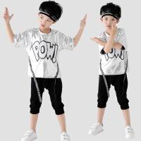 儿童亮片表演服男女童幼儿园演出服爵士六一现代街舞练功服装