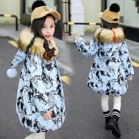 韩版大童冬季棉袄6-12岁女孩秋冬装女童棉衣外套