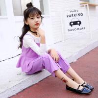 童装女童秋装套装2018新款4韩版5中大童6休闲7时尚8儿童三件套9潮