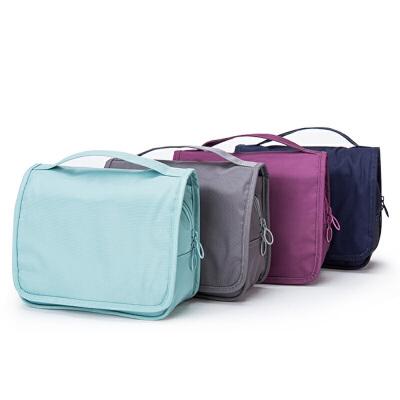 【满111减110元】卡拉羊大容量旅行手提包一体式防水洗漱包收纳包户外收纳包CX0478 一体式防水洗漱包