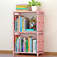索尔诺简易书架 书柜置物架 创意组合层架子 落地书橱sjsx103