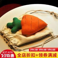 韩国饰品儿童韩版双肩包萝卜香蕉草莓包包亲子背包男女童双肩背包