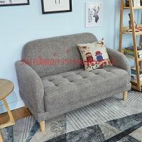 北欧家具小户型布艺简约客厅沙发双人两人三人沙发卧室公寓小沙发