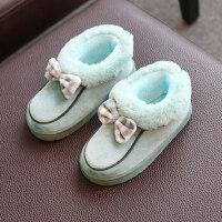 儿童亲子棉拖鞋女孩全包跟男孩保暖加厚加绒包脚小孩宝宝棉鞋