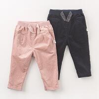 [3折价:39]戴维贝拉春女童裤子 宝宝休闲裤 直筒裤