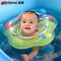 盈泰婴儿游泳圈 新生儿脖圈 宝宝戏水充气玩具 幼儿童游泳圈