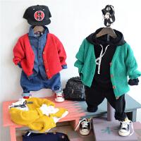 韩国童装0小孩2宝宝3男女童4儿童5针织开衫毛衣外套17春秋韩版潮