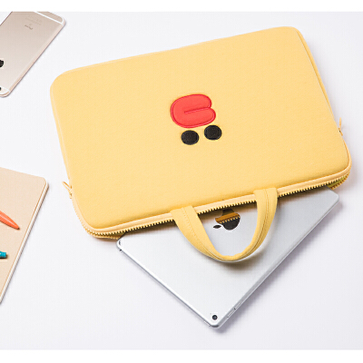苹果Air笔记本电脑包Macbook15内胆包mac13.3寸pro13保护套手提 黄色 发货周期:一般在付款后2-90天左右发货,具体发货时间请以与客服协商的时间为准
