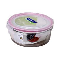 GlassLock/三光云彩 韩国进口钢化玻璃乐扣微波保鲜盒/碗饭盒四面锁扣-RP524 720ml