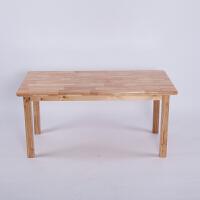 实木幼儿园桌子长方桌成套桌椅宝宝学习书桌幼儿园专用课桌椅