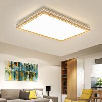LED吸顶灯大气圆形现代简约客厅灯卧室灯具餐厅阳台水晶家用灯饰