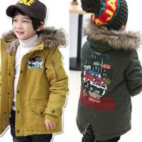 儿童装男童棉衣宝宝韩版外套小孩衣服2018冬装新款C816