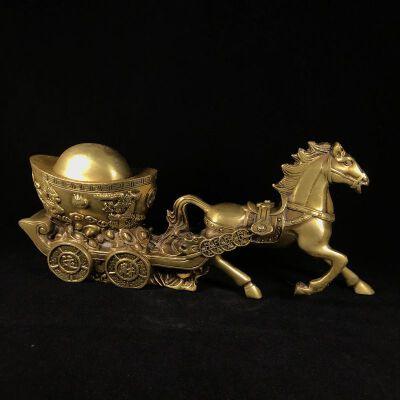 马拉金元宝 精品铜摆件