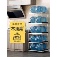 厨房置物架微波炉架落地不锈钢锅架厨房用品收纳架多层 r7f