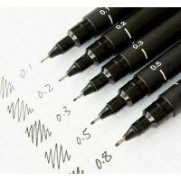 三菱UNI PIN-200 绘图笔针管笔 针笔 漫画设计勾线笔 草图笔