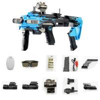 可发射仿真格洛克水晶珠弹枪抢连发电动冲锋男孩儿童玩具枪