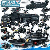 沃马�犯咛鼐�益智拼装大型汽车飞机积木玩具儿童玩具男孩子模型