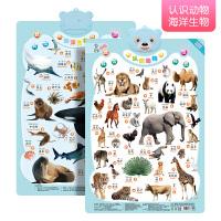 拼音有声挂图幼儿宝宝认知启蒙早教儿童汉语识字数字全套发声玩具