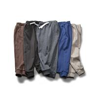 童装春装男童运动裤长裤棉中大童休闲裤儿童裤子