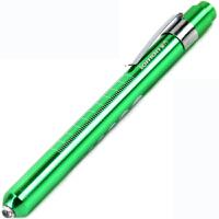 医用手电筒瞳孔笔LED7号干电池黄光笔式手电筒外科用口腔笔耳灯小手电绿色笔形灯