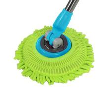 旋转拖把头替换装 拖把配件 好神拖耐磨纤维拖布头 通用款 绿色