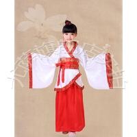 六一古装儿童汉服幼儿园国学男女童古代舞蹈服襦裙表演服装演出服.