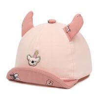 宝宝鸭舌帽婴儿帽韩版男女童遮阳帽翘舌帽户外小童棒球帽