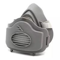 防尘口罩易呼吸透气喷漆面具粉尘工业打磨煤矿装修灰尘可清洗面罩