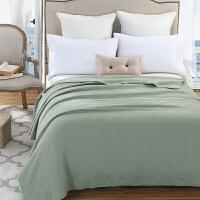 康尔馨针织棉夏被全棉夏凉被空调被纯棉裸睡可水洗床盖学生盖毯