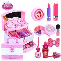 迪士尼化妆盒儿童化妆品 公主彩妆女童小女孩盒套装无毒玩具3-6岁