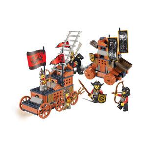 【当当自营】小鲁班三国系列儿童益智拼装积木玩具 浴血奋战M38-B0262