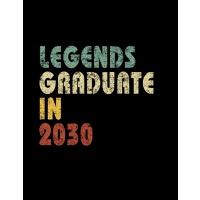 【预订】Legends graduate in 2030: Vintage Composition Notebook F