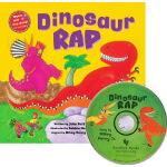 英文原版 Dinosaur Rap 恐龙 英国光脚丫童书社 语感启蒙 Barefoot singalong with