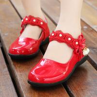童鞋女童春秋宝宝公主鞋软底休闲鞋秋鞋儿童单鞋
