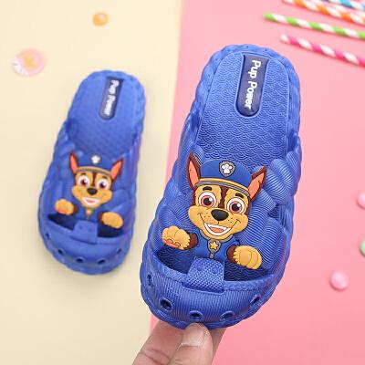 儿童拖鞋夏男室内家用软底防滑男宝宝拖鞋包头1-3岁婴幼儿 品质保证 售后无忧 支持礼品卡付款