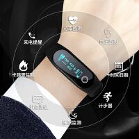 手表男学生时尚睡眠计步led运动夜光防水电子表