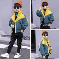 男童棉衣秋冬装儿童外套韩版棉袄面包服帅气潮衣