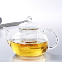 红兔子 耐热玻璃茶壶 功夫茶具带过滤内胆600ML