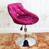 欧式吧台椅可升降旋转椅美甲椅子靠背椅美容凳子化妆师简约现代椅