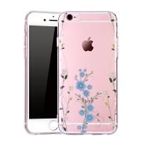 Q果 苹果6s水钻iphone6手机壳硅胶个性创意奢华女防摔外壳日韩p软