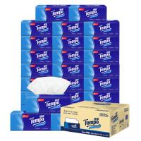 【领券立减50元】得宝4层抽取式面巾纸箱装 18包×90抽(天然无香)