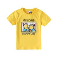 【3件3折到手价:52】小猪班纳童装儿童短袖t恤男童卡通夏季新款打底衫