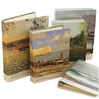 活页本 联华《莫奈.光的世界》活页本 A5/B5 复古日记本 金属夹日记本子 款式* 单本装