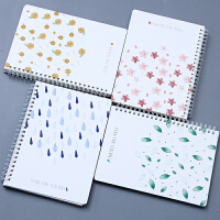 【下单领3元无门槛券】创意学习文具 学生可爱笔记本 四季如歌/北极的风 线圈本