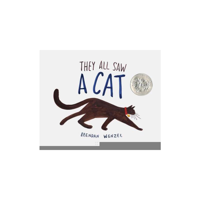 【预订】They All Saw a Cat 预订商品,需要1-3个月发货,非质量问题不接受退换货。