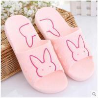 家居浴室拖鞋女�H子卡通浮雕洗澡室�确阑�塑料�和�拖鞋情�H夏�鲂�
