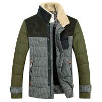 冬装毛领羽绒服男士冬季保暖外套