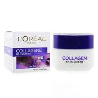 �W�R雅 L'Oreal �z原蛋白�S盈日霜 Collagene Re-Plumper Day Cream 50ml