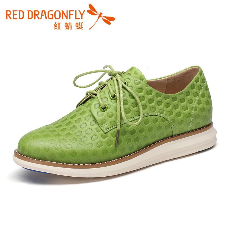 红蜻蜓运动鞋女年跑步鞋透气软底休闲鞋增高女鞋