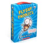 顺丰发货 英文原版儿童启蒙 Fly Guy Phonics 苍蝇小子12本自然拼读 (10本书+2本练习册) Tedd
